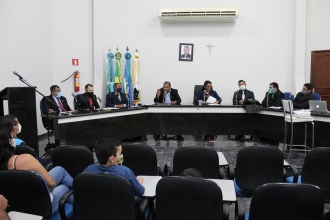 8º Sessão Ordinária realizada no dia 08 de junho de 2021