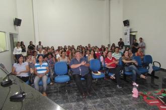 Realizado na Camara Municipal SEMINÁRIO DE ENCERRAMENTO DA SALA DO EDUCADOR DO MUNICÍPIO DE VALE DE SÃO DOMINGOS